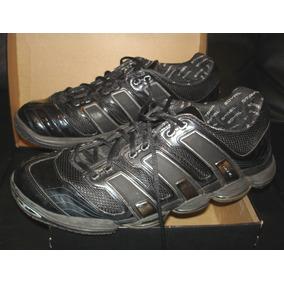 Zapatilla adidas Stabil S7 Negro Plateado Metalico 47,5