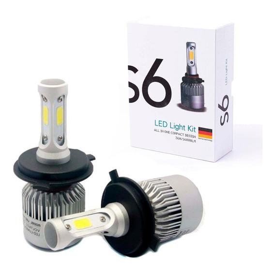 Cree Led S6 H4 Cooler 16000lm Excelente Iluminacion