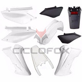 Kit De Plasticos Honda Xr 250 Tornado 9 Piezas Color Blanco