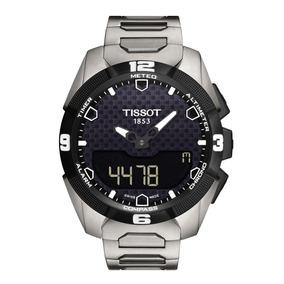 Reloj Tissot T-touch T091.420.44.051.00 Solar Y De Titanio