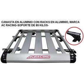 Canasta Y Racks, Marca Ac Racing, Todo Vehículo, Aluminio