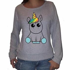 Buzo De Lanilla Unicornio Cute Kawaii Caballo Epico Mitico