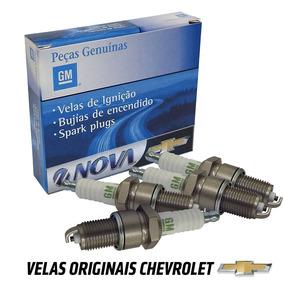 Jogo Velas Ignicao Bkrekc Vectra Elite 2.4 16v 2008 A 2012