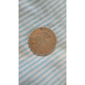 Moneda Antigua De Cinco Pesos Méxicana 1972