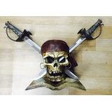 Kit 02 Espada Adaga Capitão Pirata