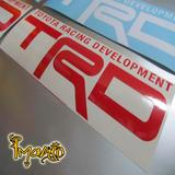 Toyota Starlet, Yaris Corolla Trd Calcomanias Carros