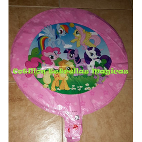 My Little Ponys Globos Metalizados Decoracion Cumple