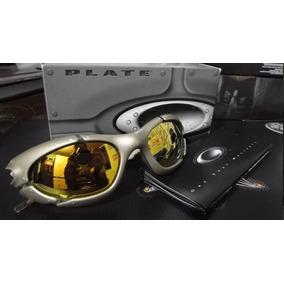 Oakley Plate Platinum 24k Top Da Linha Plate! - Óculos De Sol Oakley ... 16ef34b0d1