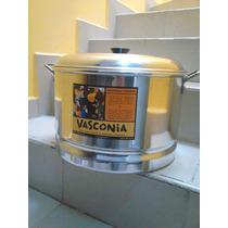 Vaporera Vasconia 34 Cm. Diámetro, 22 Cm. Alto. Mod.4009866