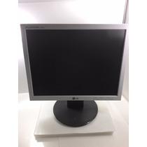 Monitor Lg Flatron 15p 1550s + Cabos E 6 Meses De Garantia