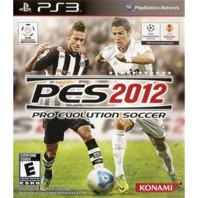 Jogo Pro Evolution Soccer 2012 Pes 12 Ps3 Futebol Original