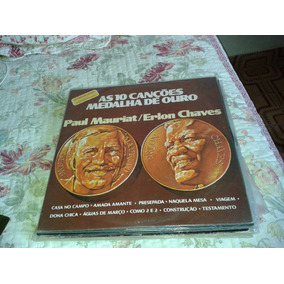 Lp Paul Mauriat / Erlon Chaves Ótimo Estado 239