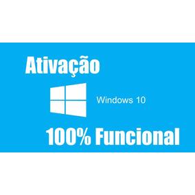 Key Chave Do Windows 10 Pro Ativação Online Fpp 32 /64 Bits
