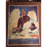 Cartel Fuerza Aerea Usa