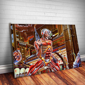 Placa Decorativa Iron Maiden 7 Música Rock Quadro Mdf 3mm