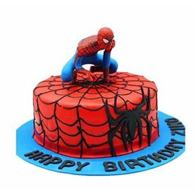 Primero De La Torta Del Hombre Araña Figurita Varios Diseños