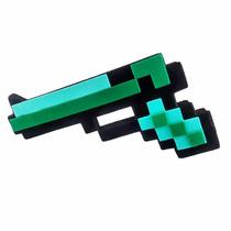 Pistola Diamante Arma Mod Espada Picareta Minecraft