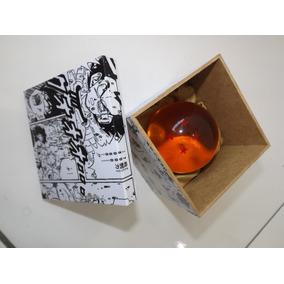 Esfera Do Dragão 4 Estrelas Dragon Ball Tamanho Real 8cm +cx