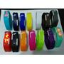 Relogio Nike Led Pulseira Silicone Kit Com 5 Mega Promoção