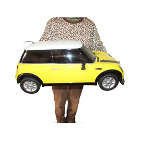 Carro De Controle Remoto Muito Grande Mini Cooper