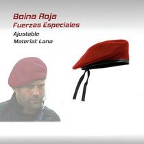 Boina Gorra Fuerzas Especiales Militar Paintball Gotcha Ar15