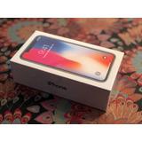 Iphone X 64gb - Silver - Libre - Nuevo Sellado