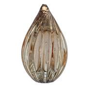 Pinha Med Vidro Murano - Gold Translúcido