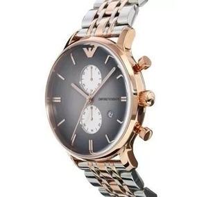 6925d685b19 Relógio Tfk1646 Emporio Armani Ar1721 Prata Preto C cx