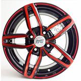 Kit X 4 Tvw Rodado 14 Leni Rojas Tuning Peugeot Ford + Envio