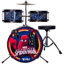 Bateria Phx Marvel Spider Bims1 Azul Na Cheiro De Musica