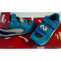Tenis Puma Cookie Monster Runner Sesame Street 14.5 Cm $675