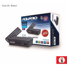 Conversor Digital E Gravador Full Hd Dtv-4000 Mini