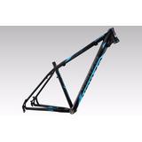 Quadro Aluminio Bicicleta Aro 29 Venzo Raptor Preto E Azul