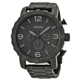 Relógio Masculino Fossil Preto Fosco - Jr1401