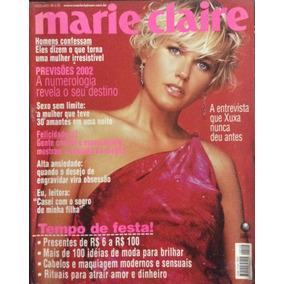 Revista Marie Claire - Xuxa - Dezembro 2001