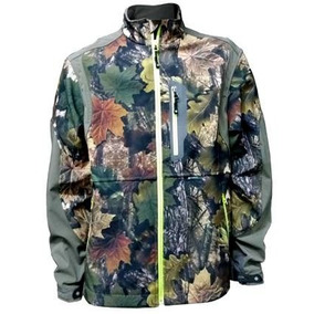 Campera Softshell Camuflada 3d Forest Chalay