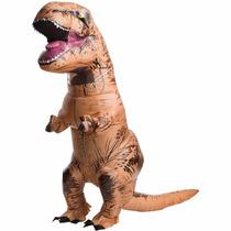 Disfraz T-rex Botarga De Dinosaruio Inflable