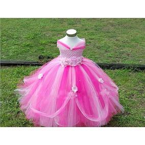 Vestido Princesa Saia Tutu Festa Aniversário Daminha Fantasi