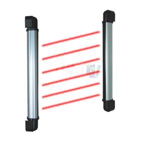 Sensores 100cm Cerca Infrarrojos Perimetral 100 Mts 6 Rayos