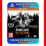 Dying Light The Following Ps4 Enhanced Stock Ya