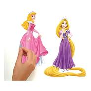 Adesivo De Parede Princesas Da Disney - Rmk1903 Reutilizável
