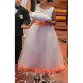 Vestido De Fiesta Para Niña (2) - Cortejo Boda - Talla 7-8