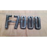 Insignia Ford F-7000 74/80 Guardabarro Delantero Original Me