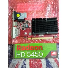 Placa Vídeo Ati Powercolor Radeon Hd5450 1gb Ddr3 64 Pci-e