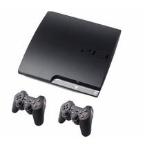 Consola Ps3 Slim Y Ultraslim 120gb Outlet Con 2 Joysticks