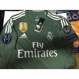 Jersey Real Madrid Portero Champhions Navas Envio Gratis