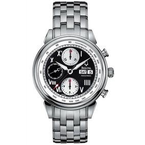 Reloj Bulova 63c009 Accutron 50m Automatico Fecha Dia Taquim
