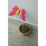 Mariposas Decorativas! (1 Unid) Para Decorar Macetas