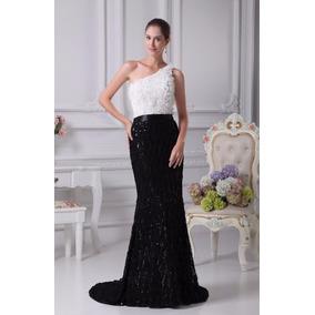 Vestido De Fiesta Elegante Importado Como Nuevo