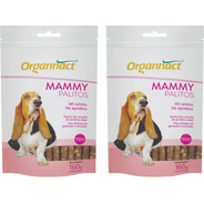 2 X Mammy Dog Palitos 160g Organnact 160 G